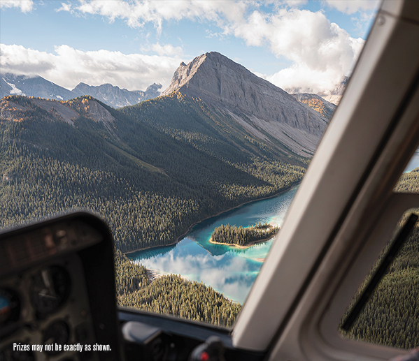 STARS Lottery2021 Prizes Experiences Rockies Helicopter Text Image Comp