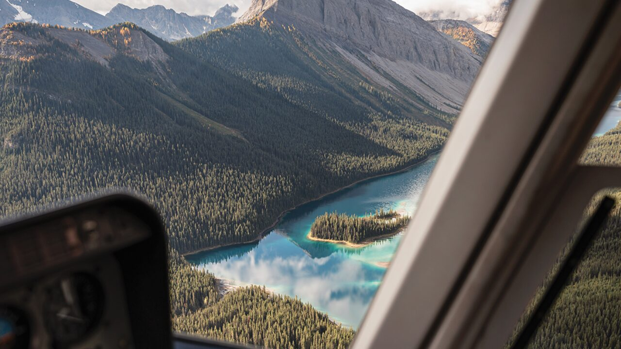 Rockies Helicopter Tour Prize